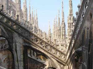 cathedral of Milan-A View