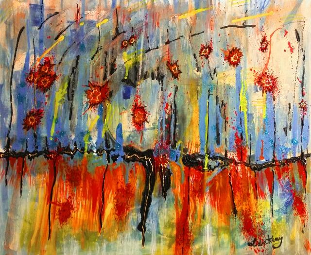 It's Raining Fire by Lidia Kenig Scher (c)