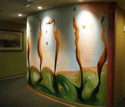 Wakefield Mural-Side View by Lidia Kenig Scher