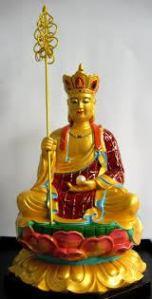 ksitigarbha-statue